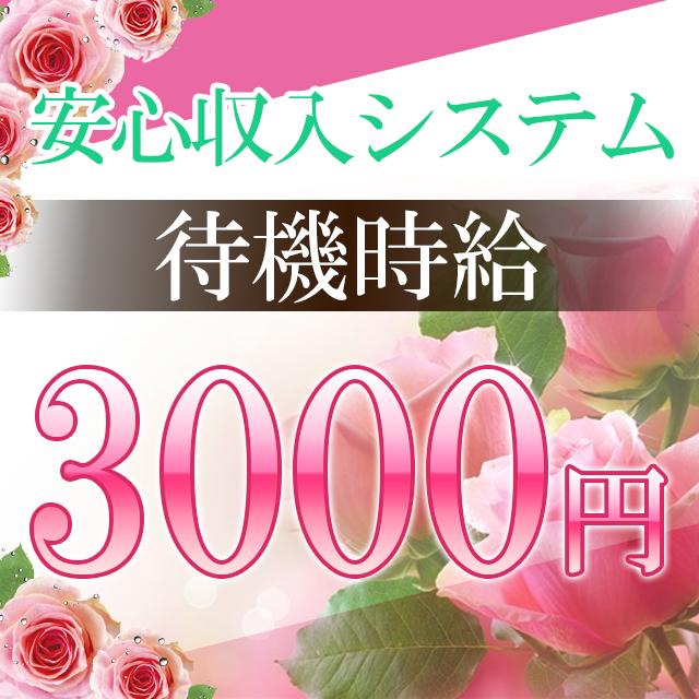 待機時給3,000円(10分刻みで計算)